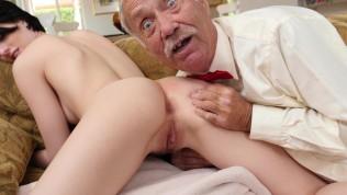 BLUE PILL MEN – Dirty Old Men Stick Their Dirty Old Dicks In Alex Harper's Ass